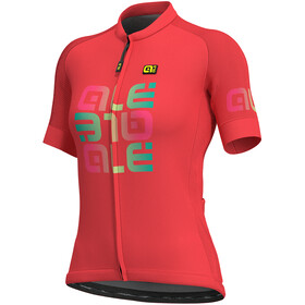 Alé Cycling Solid Mirror - Maillot manches courtes Femme - rouge/Multicolore